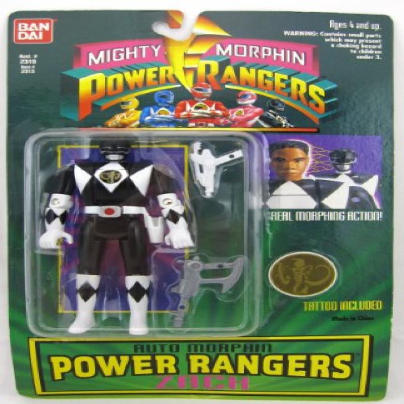 Mighty Morphin Power Rangers Auto Morphin Power Rangers Zach by