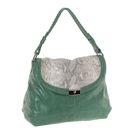 Women's Buxton Jasmine Leather Handbag