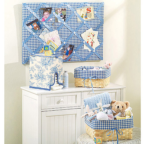 One Size Only McCalls Patterns M4328 Baby Room Essentials