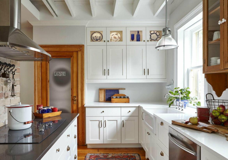 10'x10' Galaxy Cabinetry RTA White Bevel Shaker Kitchen ...