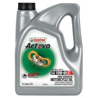 Castrol Actevo 4T 10W-40 Part Synthetic Motorcycle Oil, 1 GAL