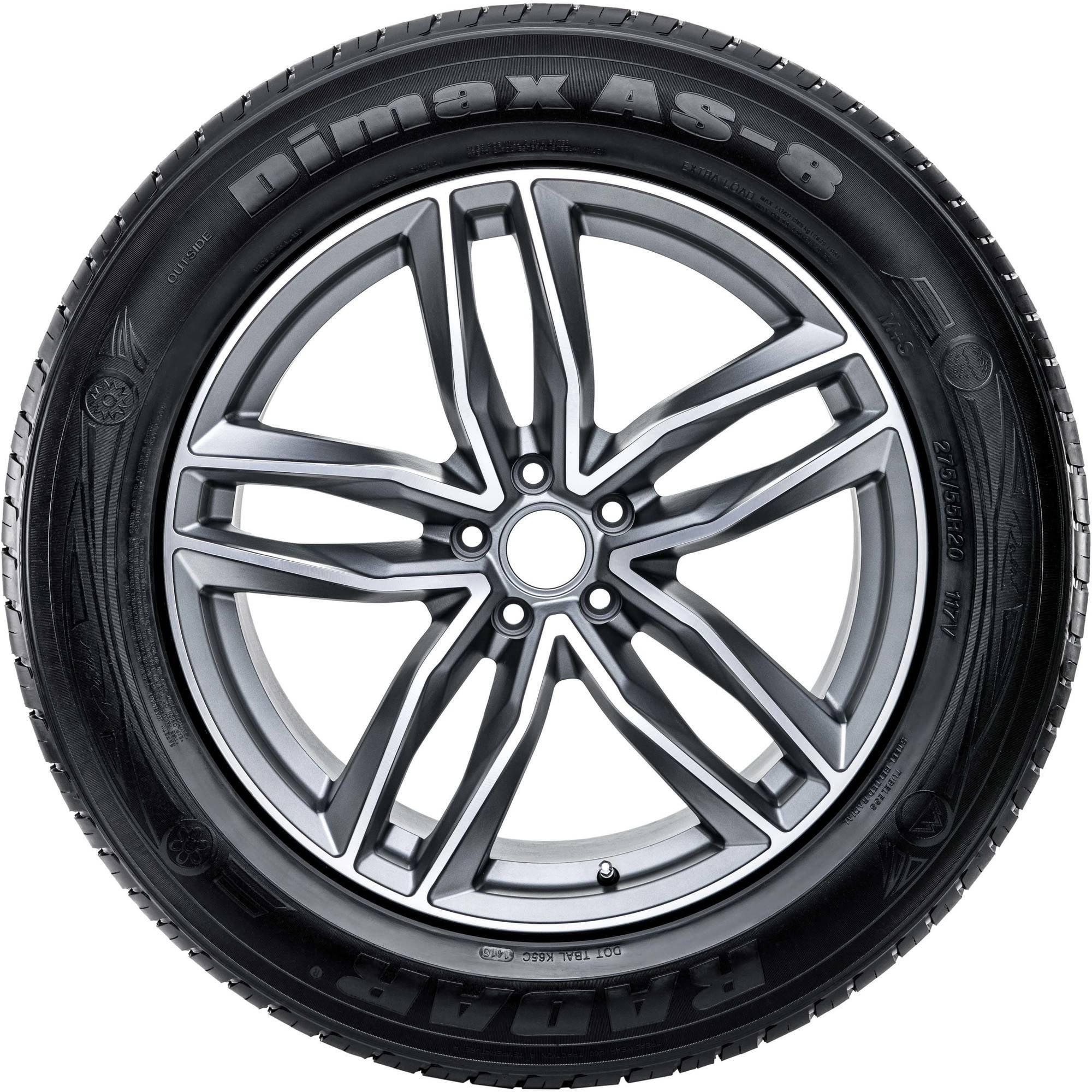 205 55R16 91V BSW Radar Dimax AS 8 Tires by Radar