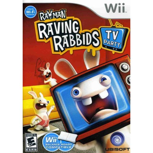 Rayman Raving Rabbids: TV Party (Wii) by Ubisoft