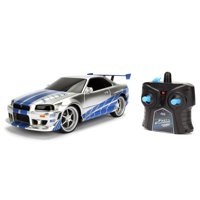 Jada Toys - Fast and Furious 1:24 Scale RC, Nissan Skyline GTR R34