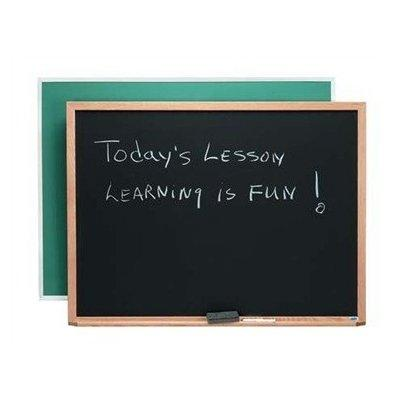 Composition Wall Mounted Chalkboard Size: 4' H x 5' L