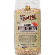 Bob's Red Mill 5 Grain Plus Flaxseed Hot Cereal, 16 oz (Pack of 4)