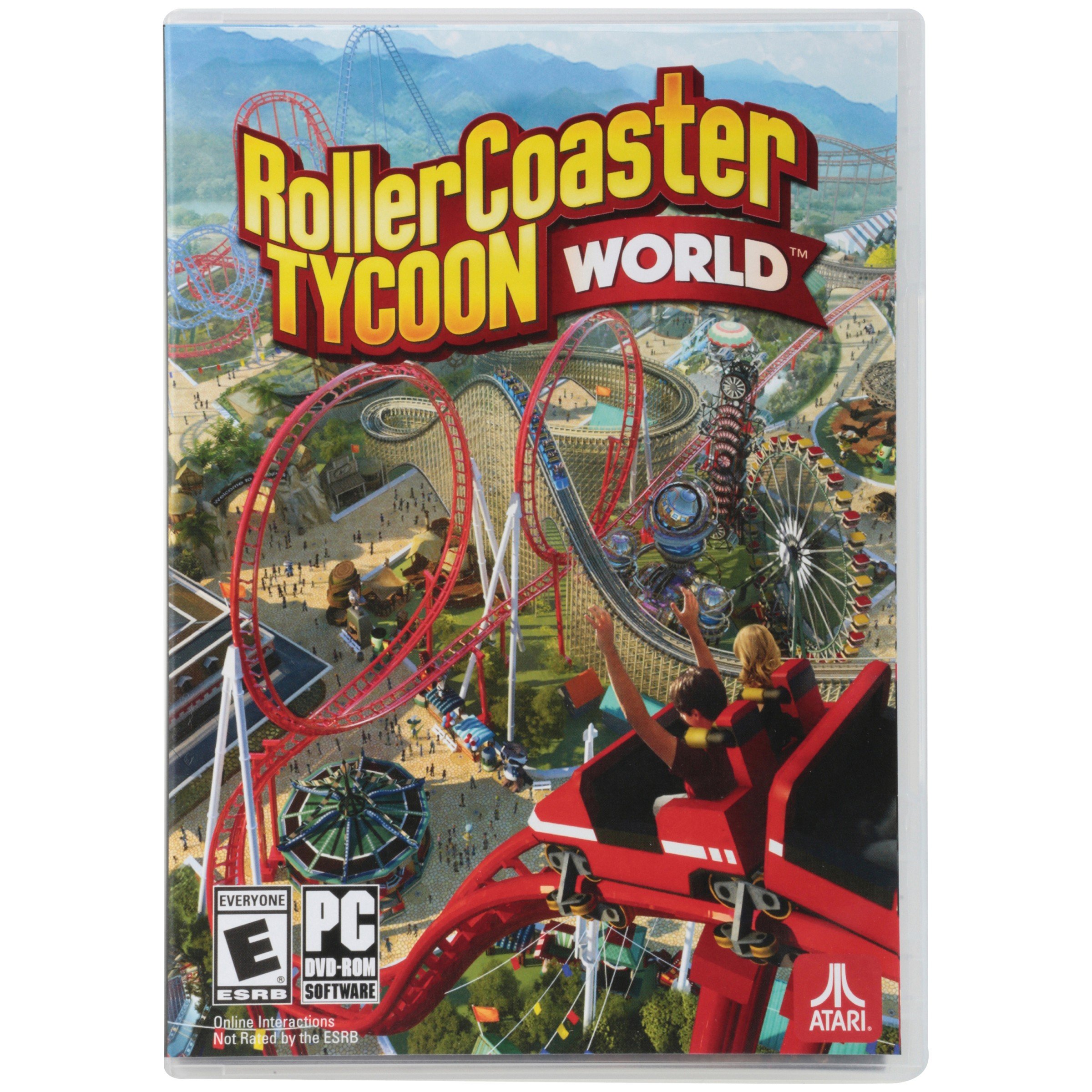 Atari® RollerCoaster Tycoon™ World PC DVD-Rom