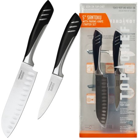Top Chef Santoku and Paring Knife Set, 2