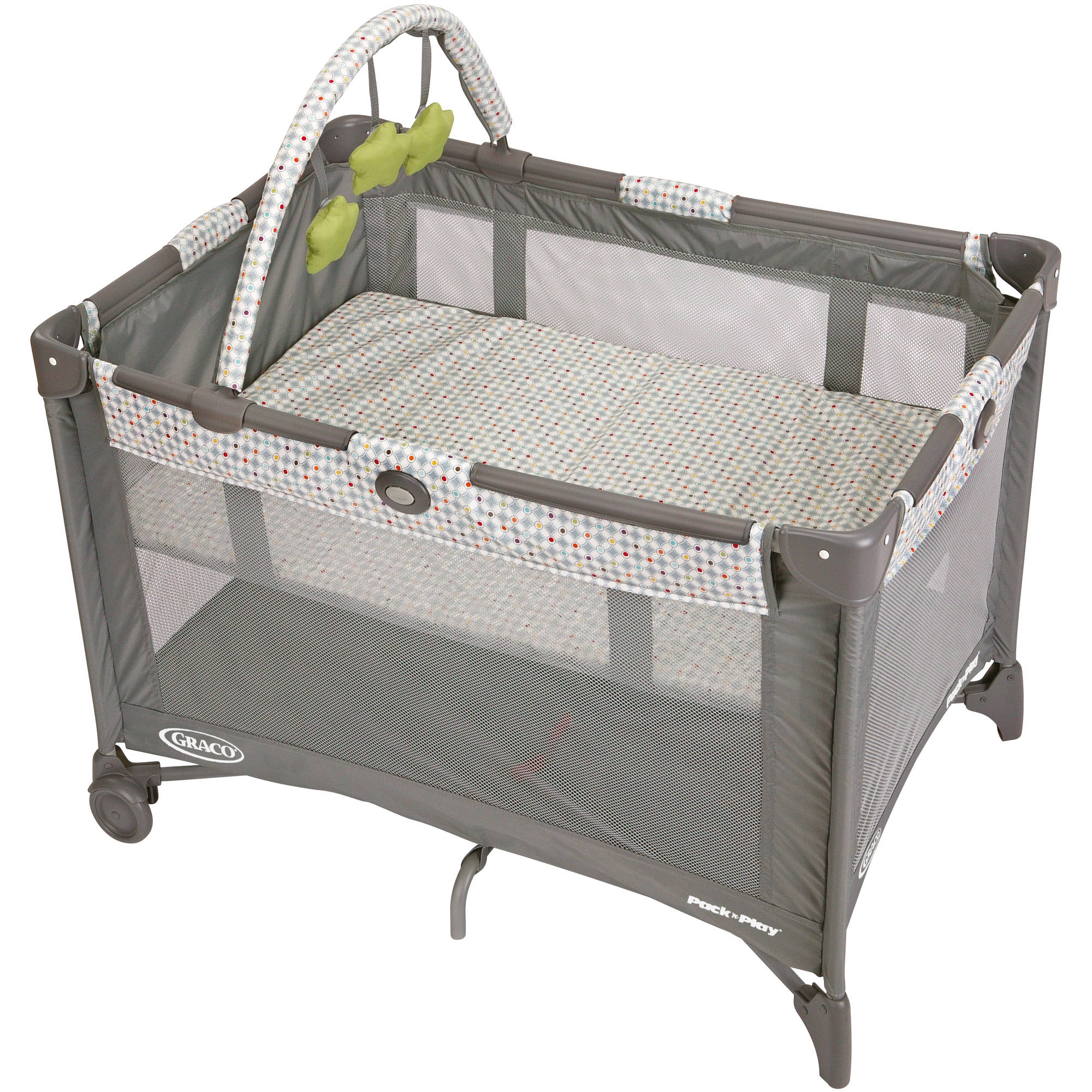 baby playpens - graco pack 'n play with automatic folding feet playard pasadena