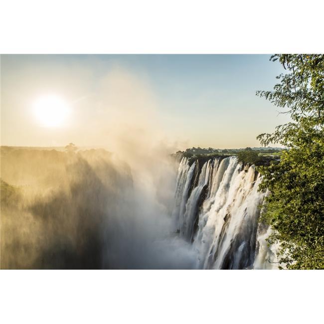 Victoria Falls - Livingstone Zambia Poster Print - 38 x 24 in. - Large - image 1 de 1