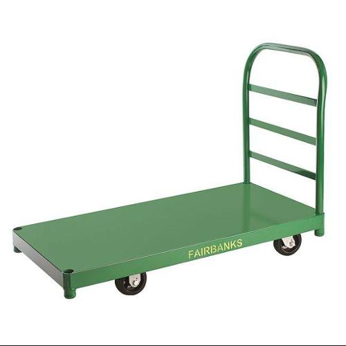 FAIRBANKS SD-28-3060-RT/411 Platform Truck, Cap 1200 Lb, 30x60