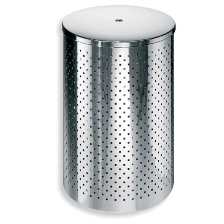 Ws bath collections complements 11 gallon trash can Lidded trash can for bathroom