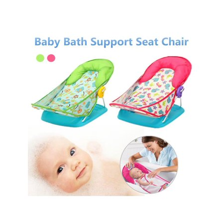 Newborn Baby Infant Foldable Cradles Bath Tub Support Seat Chair Bathing Shower Chair Adjustable Folding Safety Helper Tool Home](Baby Shower Chairs For Sale)