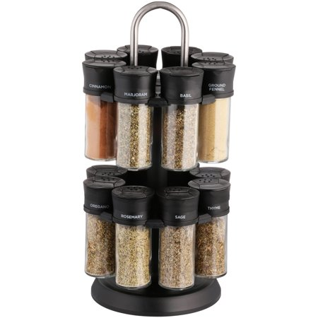 bd973c8a84de Olde Thompson Spice Rack Set, 17 pc