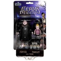 Mezco 5 Points: The Addams Family Fester, Pugsley and Thing.
