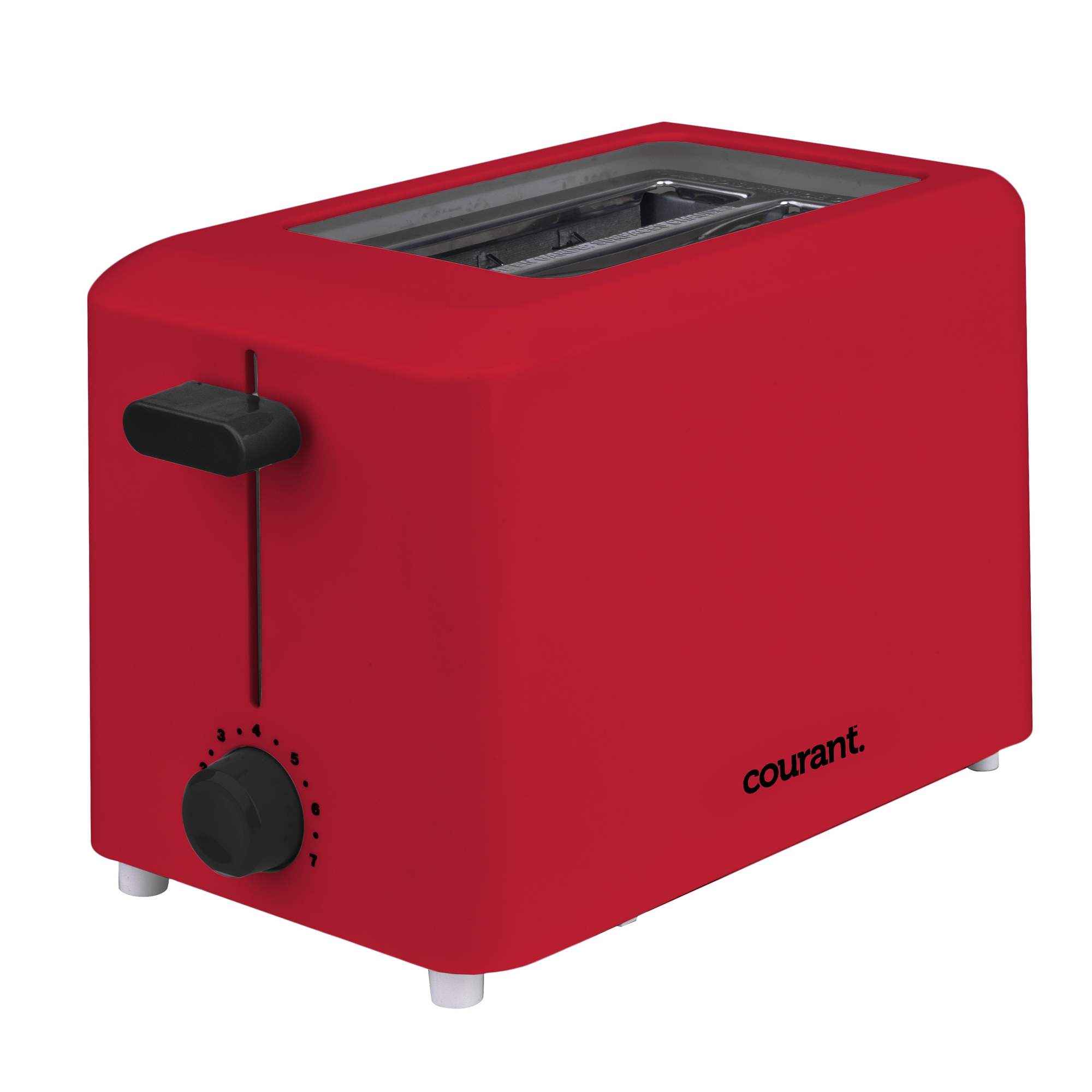 Courant CTP2701R Cool Touch 2-slice Toaster Red