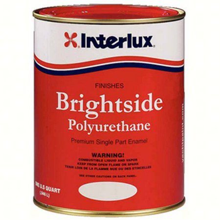 Interlux Boat Bottom Paint (Interlux 4359Q  4359Q; Brightside White Quart )