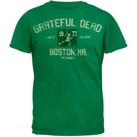 Grateful Dead - The Garden T-Shirt - Green Grateful Dead Bear