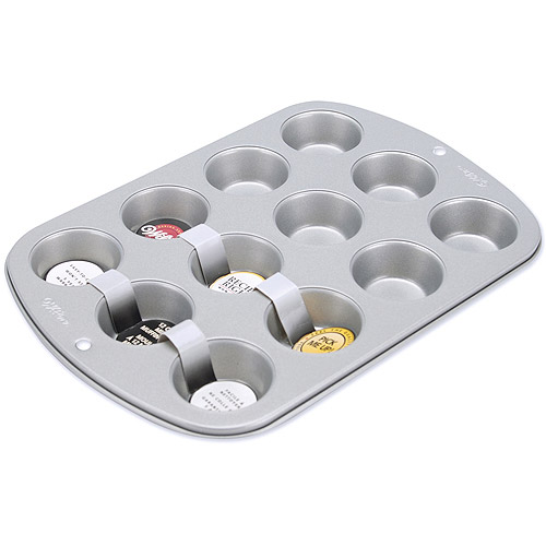 Wilton Recipe Right 12-Cavity Mini Muffin Pan 2105-952