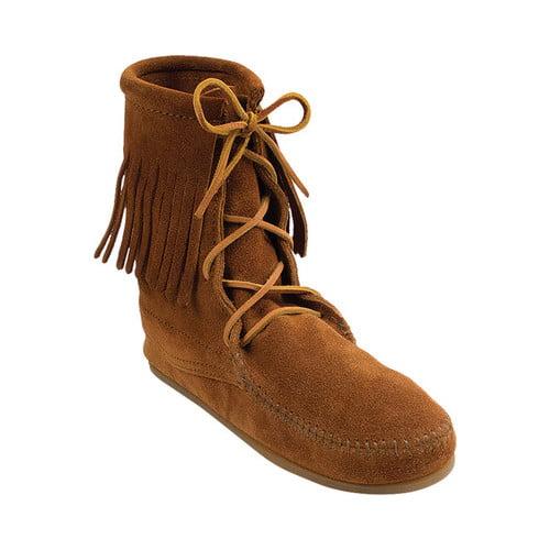 Minnetonka Women S Minnetonka Tramper Ankle Hi Boot Walmart Com Walmart Com