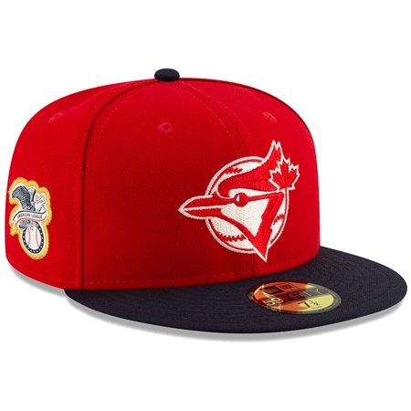 Toronto Blue Jays New Era 2019 Canada Day On-Field 59FIFTY Fitted Hat - Red/Navy (Canada Toronto Hat)