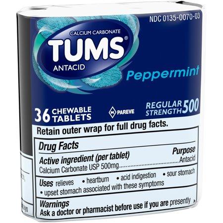 Antacid pills