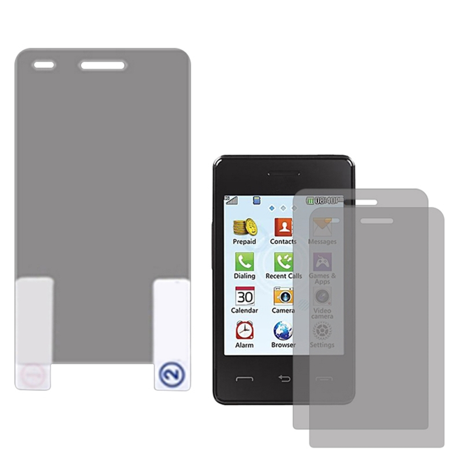 Insten LCD Screen Protector Film Guard Twin Pack For LG 840G