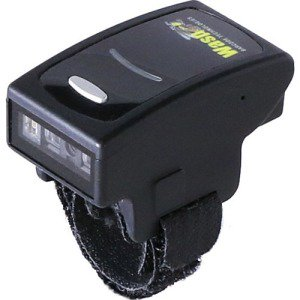 Wasp WRS100SBR Wearable Barcode Scanner - 1D - Imager - Bluetooth - Black ()