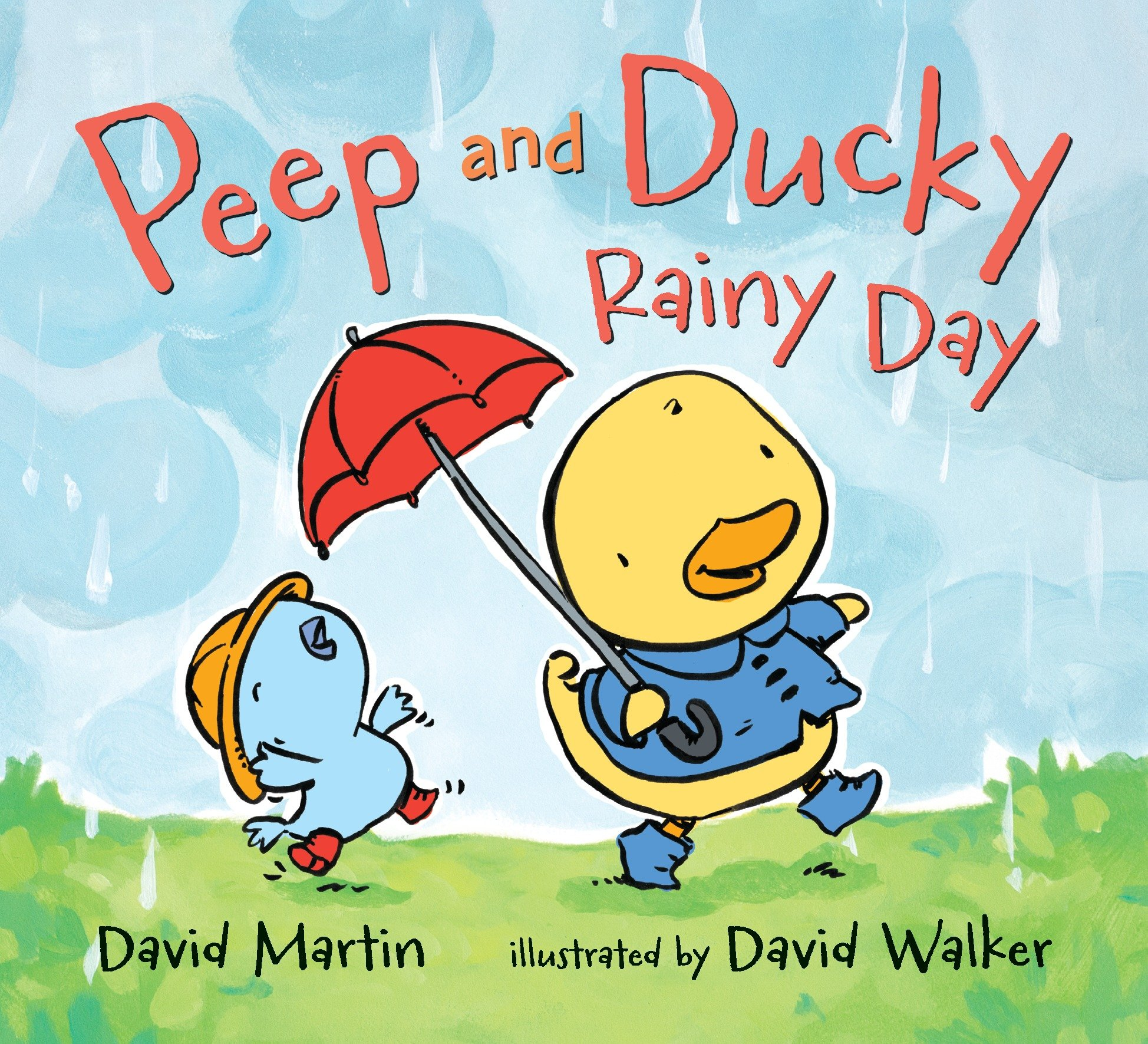 Peep and Ducky Rainy Day (Board Book)