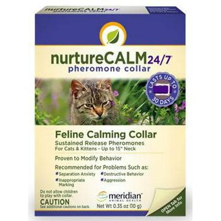 NurtureCalm 24/7 Pheromone Feline Collar (Pheromone Collar)