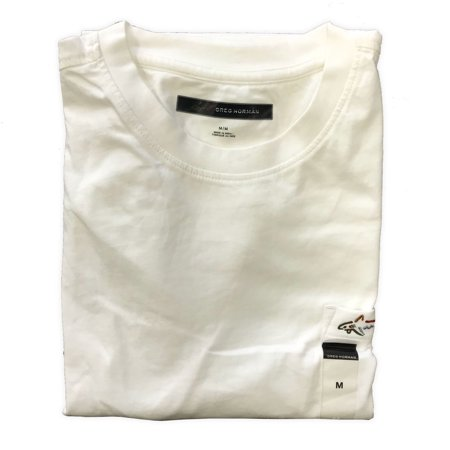 Greg Norman Casual T Shirt with Pocket (3XL, White)