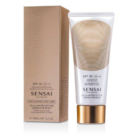 Sensai Silky Bronze Cellular Protective Cream For Body SPF 30-150ml/5.2oz