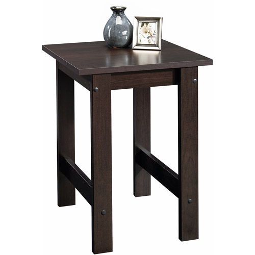 Sauder Beginnings Collection Side Table, Multiple Finishes