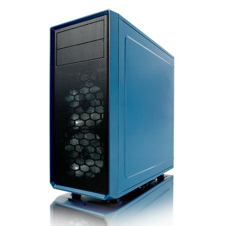 Fractal Design Focus G ATX Mid Tower Computer Case - Petrol Blue