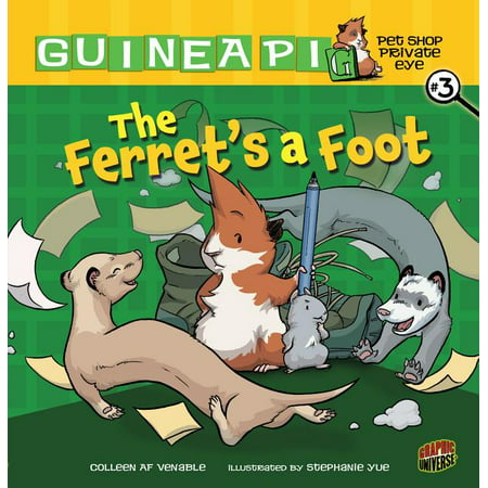 Guinea Pig, Pet Shop Private Eye: The Ferret's a Foot : Book 3 (Series #03) (Paperback)