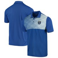 San Jose Earthquakes Antigua Tactic Polo - Blue/White