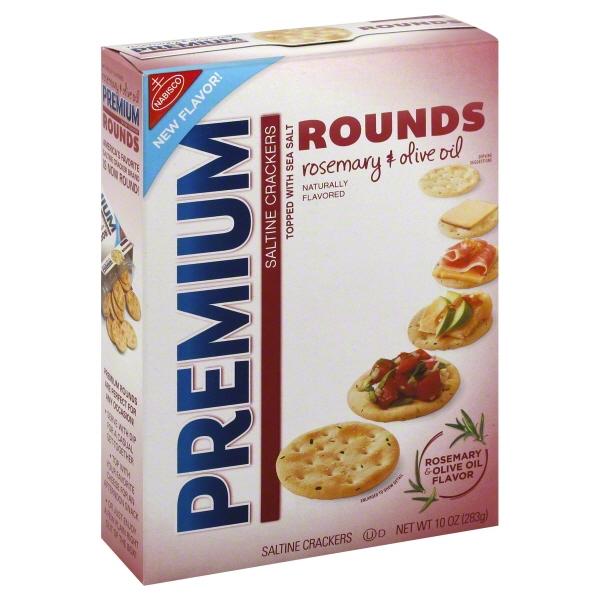 Nabisco Premium Rosemary Olive Oil Saltine Crackers, 10 Oz.