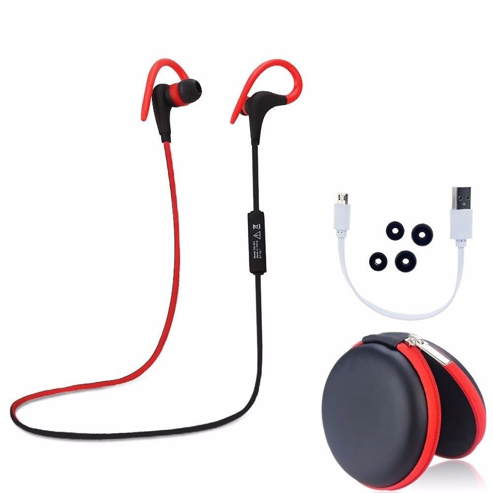 Tagital Wireless Bluetooth Headphones Noise Cancelling Mini Lightweight Stereo Sports Running Doing exercise Bluetooth Earbuds Headsets Earphones Microphone for iPhone iPad Samsung Galaxy Android