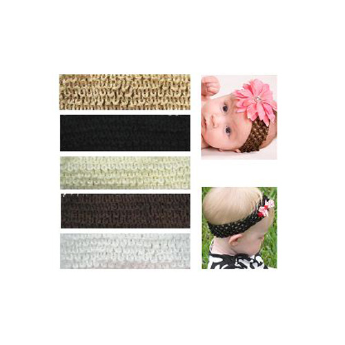My Little Legs Crochet Headbands (Pack of 5) - Neutral