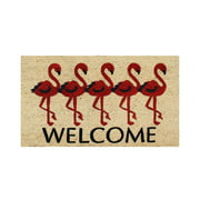 """First ImpressionFlamingo Welcome Mat 18"""" X 30"""""""