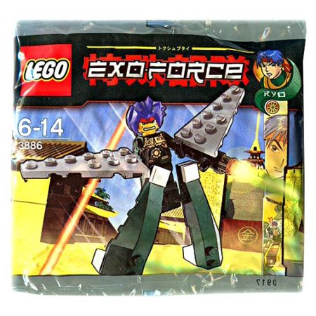 Exo Force Green Exo Fighter Mini Set LEGO 3886 [Bagged]