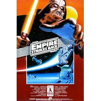 Star Wars Empire Strikes Back Movie Poster Darth Vader Princess Leia 24X36