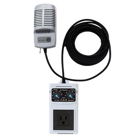 AutoPilot APCECO Analog Co2 PPM Monitor Controller with Remote Sensor -