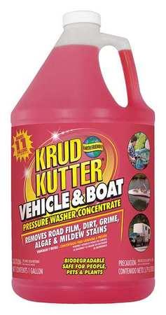 KRUD KUTTER Vehicle and Boat Cleaner,1 gal.,Bottle VB014