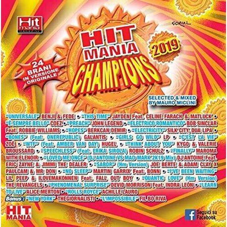 Hit Mania Champions 2019 / Various (CD)