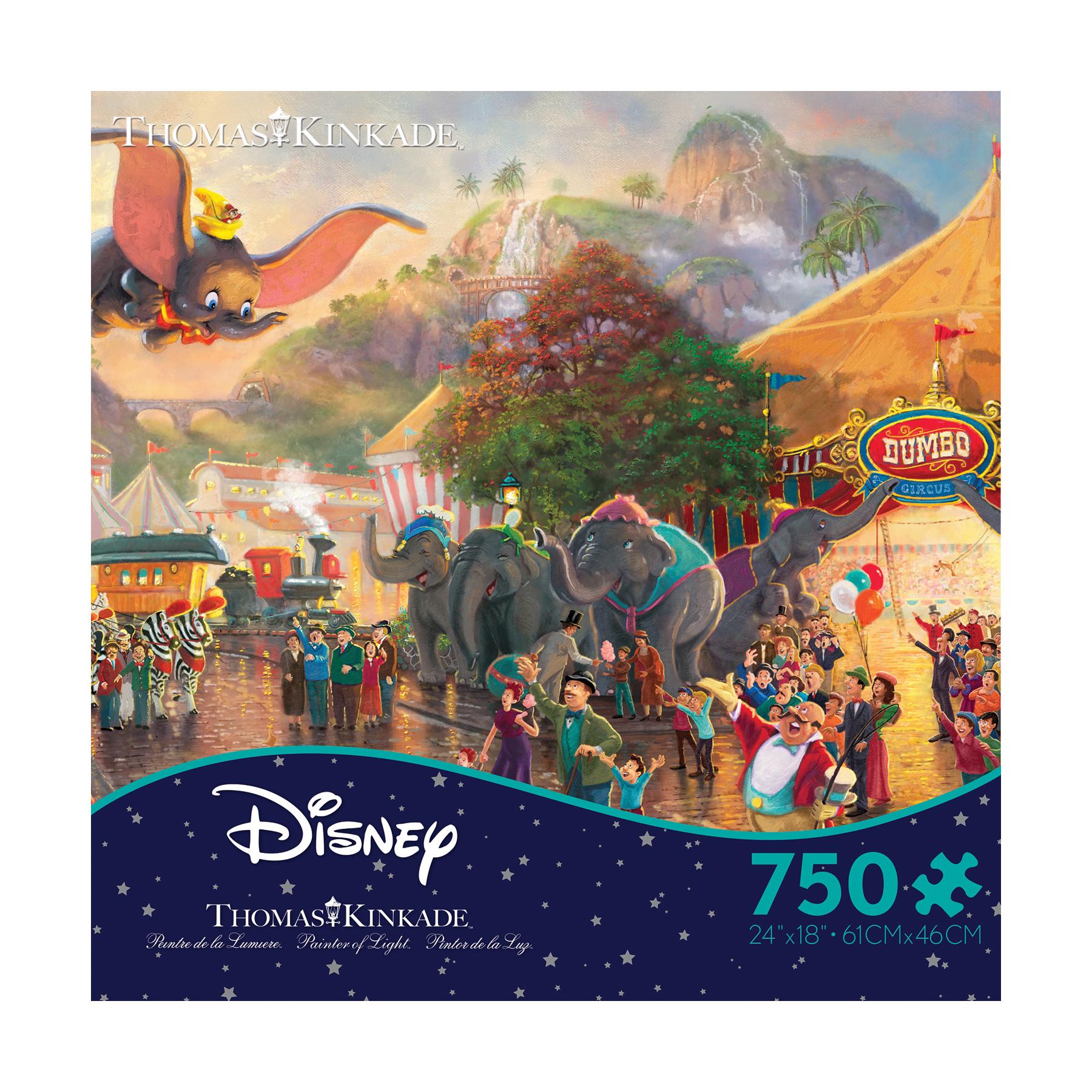 Thomas Kinkade Disney Dreams - Disney Dumbo: 750 Pcs