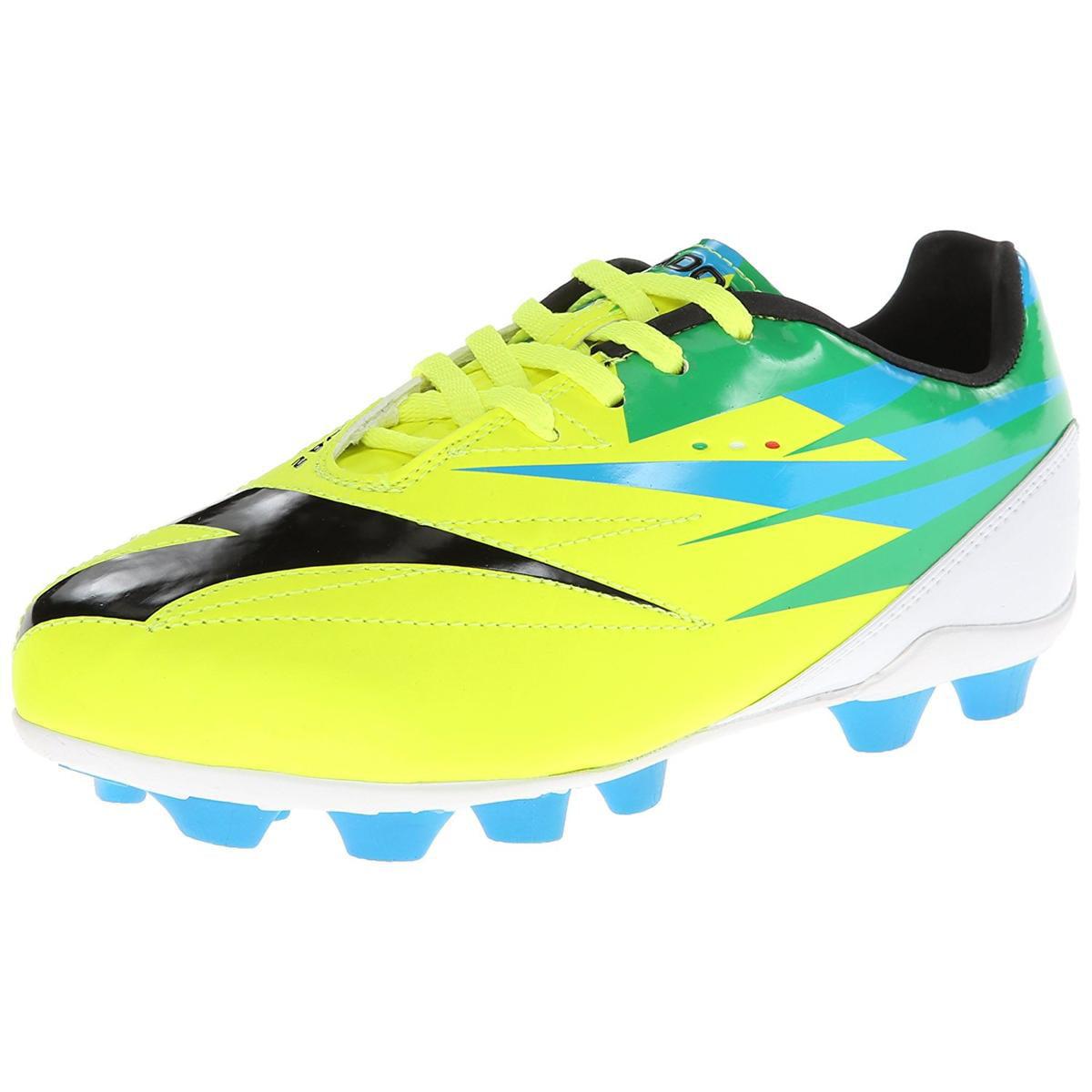 Diadora DD-NA Unisex Yellow/Black/Green Soccer Cleat 6M