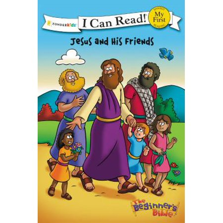 My First I Can Read/Beginners Bible - Level Pre1: The Beginner's Bible Jesus and His Friends (Paperback) - Jesus Is My Hero