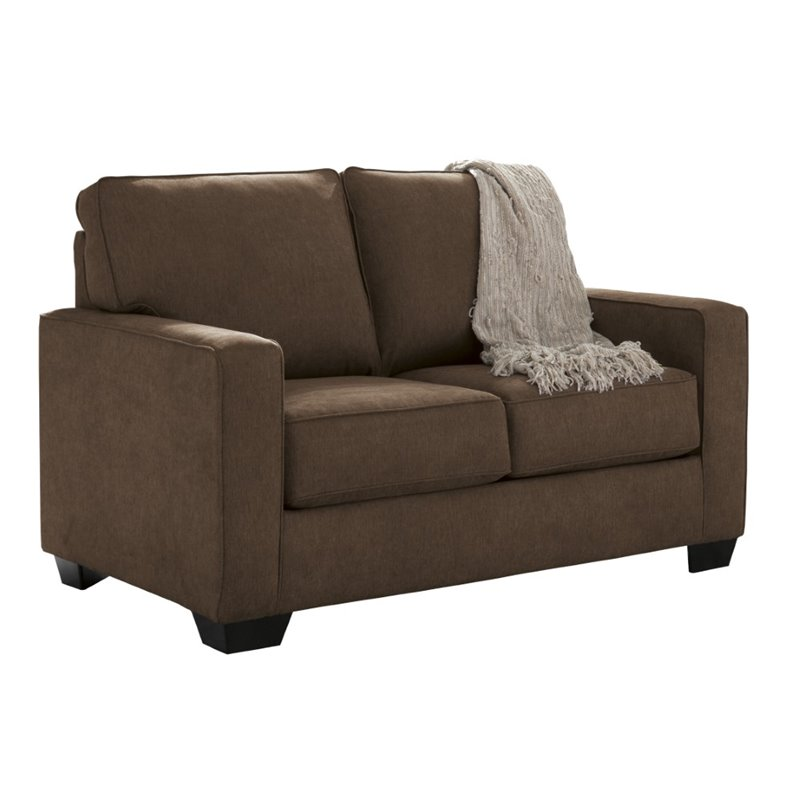 Ashley Zeb Twin Sleeper Sofa In Espresso