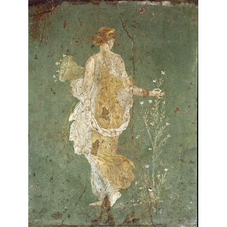 Roman Art : Spring, Flora Picking Flowers Print Wall (Flora Springs Pinot)